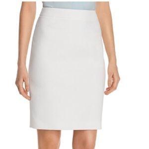 Hugo Boss Grey Pencil Skirt